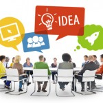 Group of Diverse Business People Brainstorming